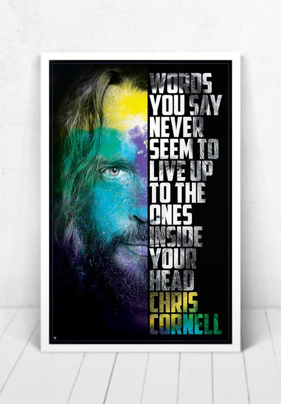 Chris Cornell Poster - Illustration [Chris Cornell Poster / Chris Cornell / Soundgarden]
