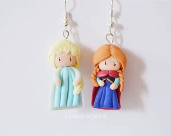 Earrings Fait Anna Elsa