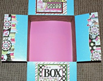 Care Package Kit - LDS 'Missionary Birthday Party in a Box' - INSTANT DOWNLOAD