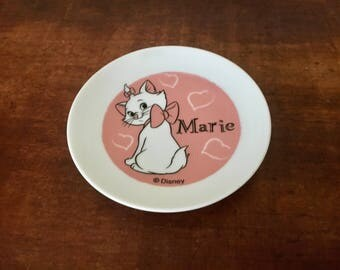 Disney aristocats collectable plate cartoon cat