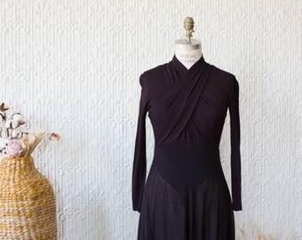 Donna Karan New York Wool Evening Gown