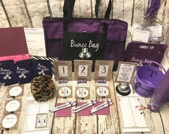 12 Person PREMIUM Bunco Party Game Starter Kit: All the bells and whistles!!! Instructions and tips on running your Group.