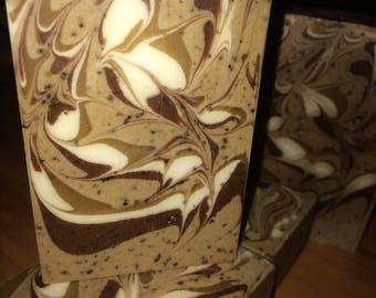 Coffee & Cream- Cold process, luxury soap