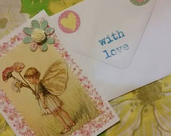The Daisy Fairy notecard
