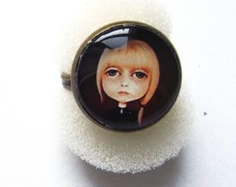 Girl Gothic inspired ring