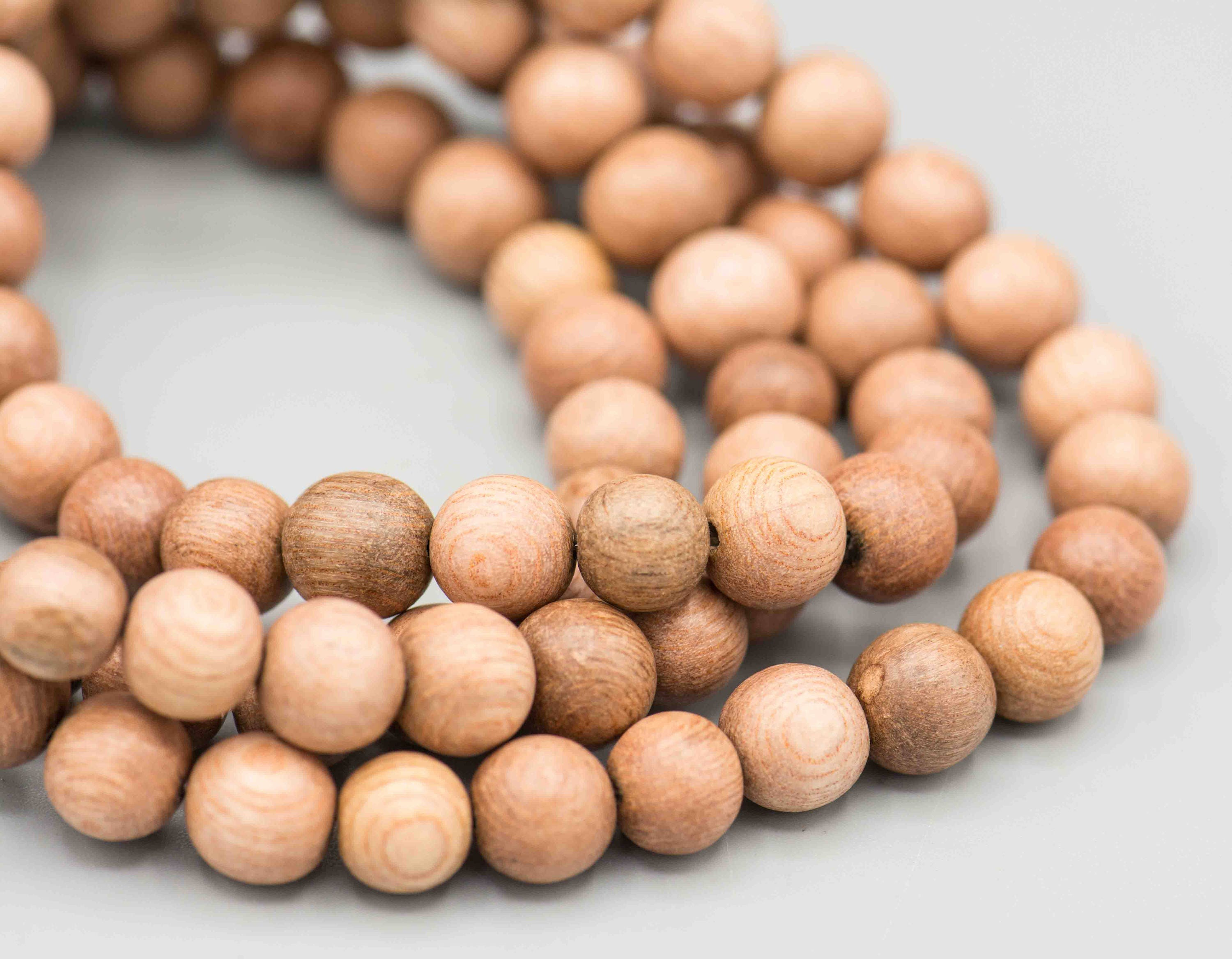 rosewood mala 50 8mm prayer jewelry supply