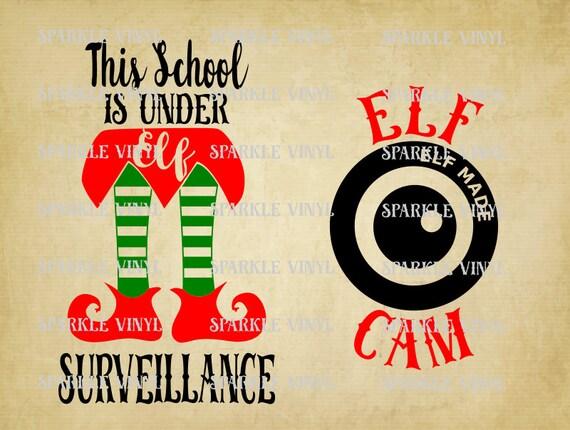 Santa Cam Elf Cam Elf Surveillance School Under Elf