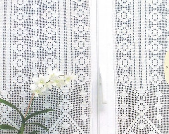 65. Vintage crochet curtain UK pattern in pdf
