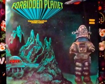 Forbidden Planet Original MGM 12 ' Vinyl Soundtrack 1976