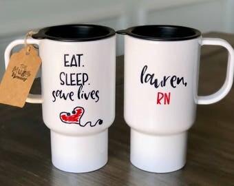 Nurse Mug, Nurse Coffee Cup, Nurse Travel Mug, Custom Coffee Mug, Sayings Mug, Custom Mug, Mom Mug, Coffee Cup, Coffee Mug, Funny Mug, Funny