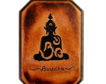 Buddha Meditation Plaque - Yoga - Motivational Plaque - Sanskrit - Mindfulness - Brahma - Bindu - Bikram - Hatha Yoga - Mantra - Guru