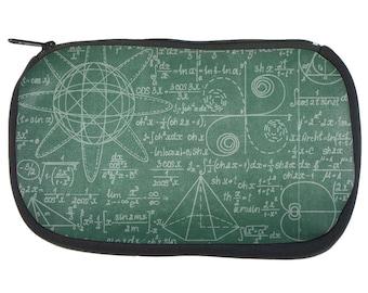 Math Geek Formulas Chalkboard Pencil Pouch