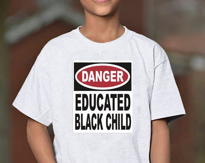 DANGER BLK Child T-Shirt