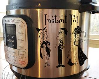 Bewitched Instant Pot Decal - Pressure Cooker Decal