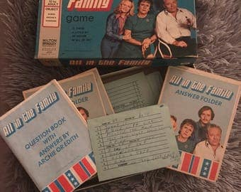 1972 All in the Family Milton Bradley game