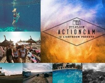 Actioncam Filmlook - 12 Lightroom Presets