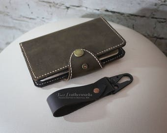 Leather Moleskine cover, Field notes covers, Passport cover, Hand made, Hand stitched - RTS