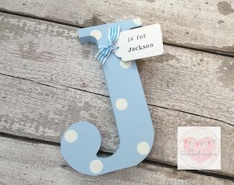 20cm Tall Times Font Freestanding Wooden Letter