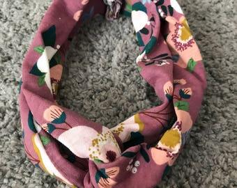 Purple Flower Teen/Adult Headband