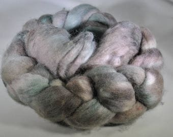 "Hand Dyed Polwarth ""Attic Finds""  4 oz Roving"