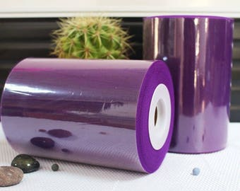sale! Tulle roll high quality Tulle Eggplant 15 cm x 82 m for tutu and decoration.