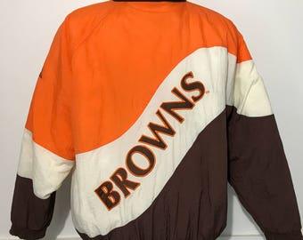 Vintage Cleveland Browns Winter Jacket XL