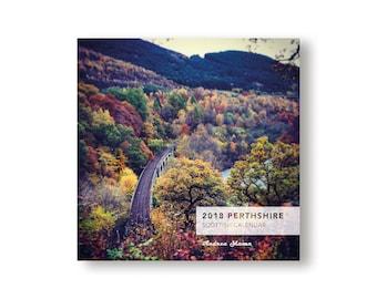 2018 Perthshire Calendar - Scotland