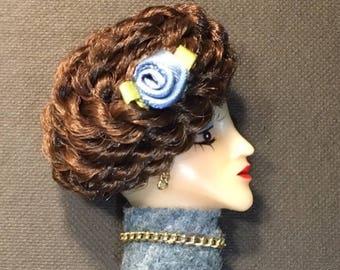 Princess Tess Lady Face Brooch Pin
