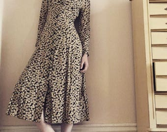 Moda Intl Breezy Floral Dress