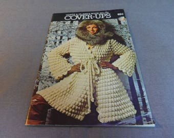 Knit and Crochet Patterns, Cover Ups, Jackets, Sweaters, Womens Fashion, Coats & Clarks Book 245, 1975