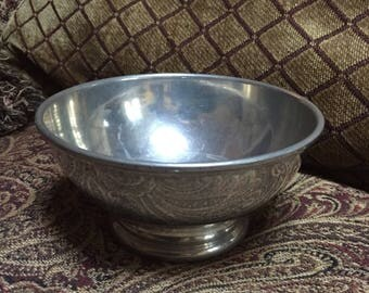 Colonial Williamsburg Steiff Pewter Bowl