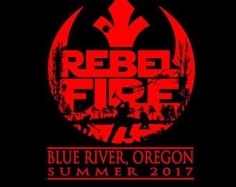 Rebel Fire Wildland Fire T-shirt
