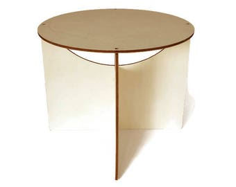 Wood Round Coffee Table,small Side Table,round Side Table,wood Side Table