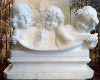 Vintage Italian Marble Sculpture