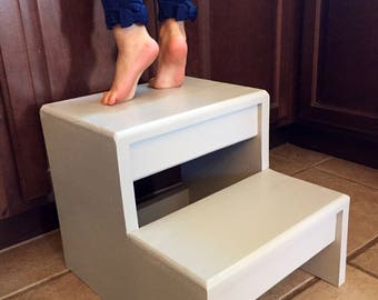 Childrenu0027s Toddler Infant Interactive Bathroom Step Stool Counter High, You  Pick Color!