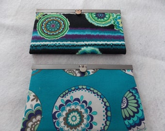Latched Fabric Wallets