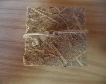 Plant 5 - small unique accordion book textures