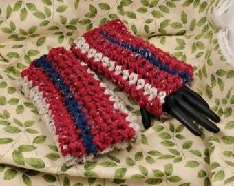 Cozy Crocheted Wrist Warmers