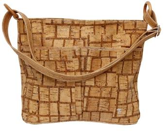 Shoulder bag made of Cork, Lady's handbag