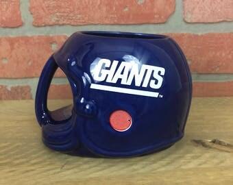 Vintage 1986 New York Giants Coffee Mug
