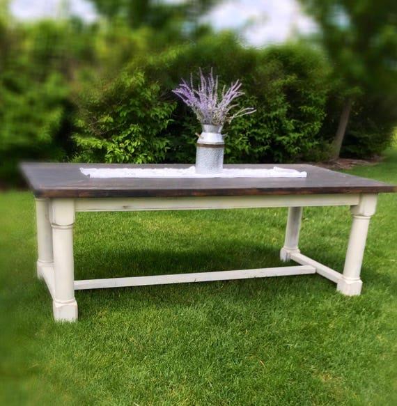 Beautiful Vintage Pottery Barn Farmhouse Kitchen Table