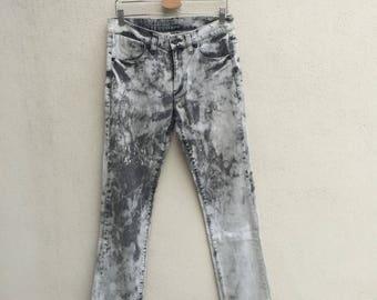Guess Acid Wash Denim Jeans Stretchable