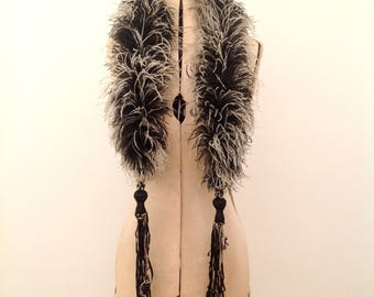 Fabulous 1920s ostrich feather boa scarf