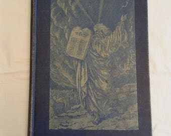 antique book 1939 - god's chosen people - grade five edition - by olaf & fernanda malmin and augsburg - church reading bible jesus religion