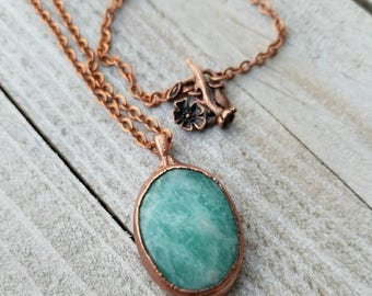 Medium Amazonite Pendant