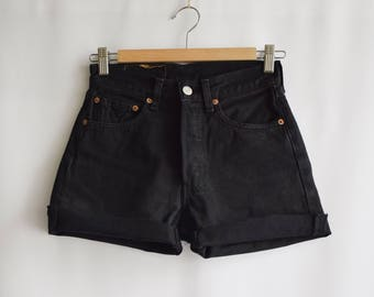 Short Vintage Levi's black