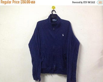 SALE 15% Rare!!! Vintage Polo Ralph Lauren Sweater Jacket Small Pony