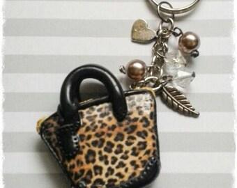 Keychain bag of fimo