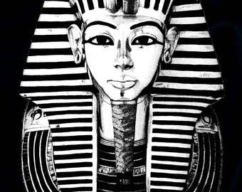 Tutankhamun (print) A4