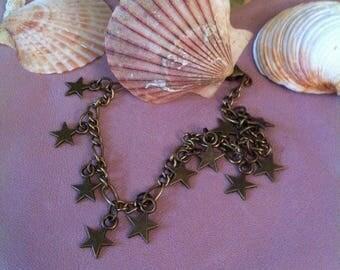 Armband ster sterrenhemel antieke bronzen kleur